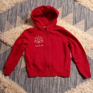 4/$20🎀Red Canada 150 hoodie size 6X